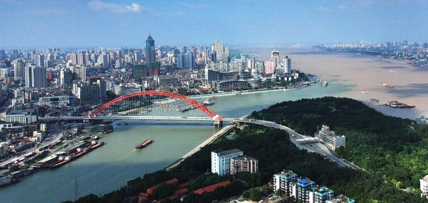 TOP 5 Chinese cities