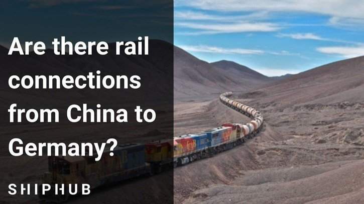 Freight train from China to Germany