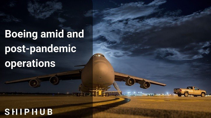 Boeing amid and post-pandemic operations