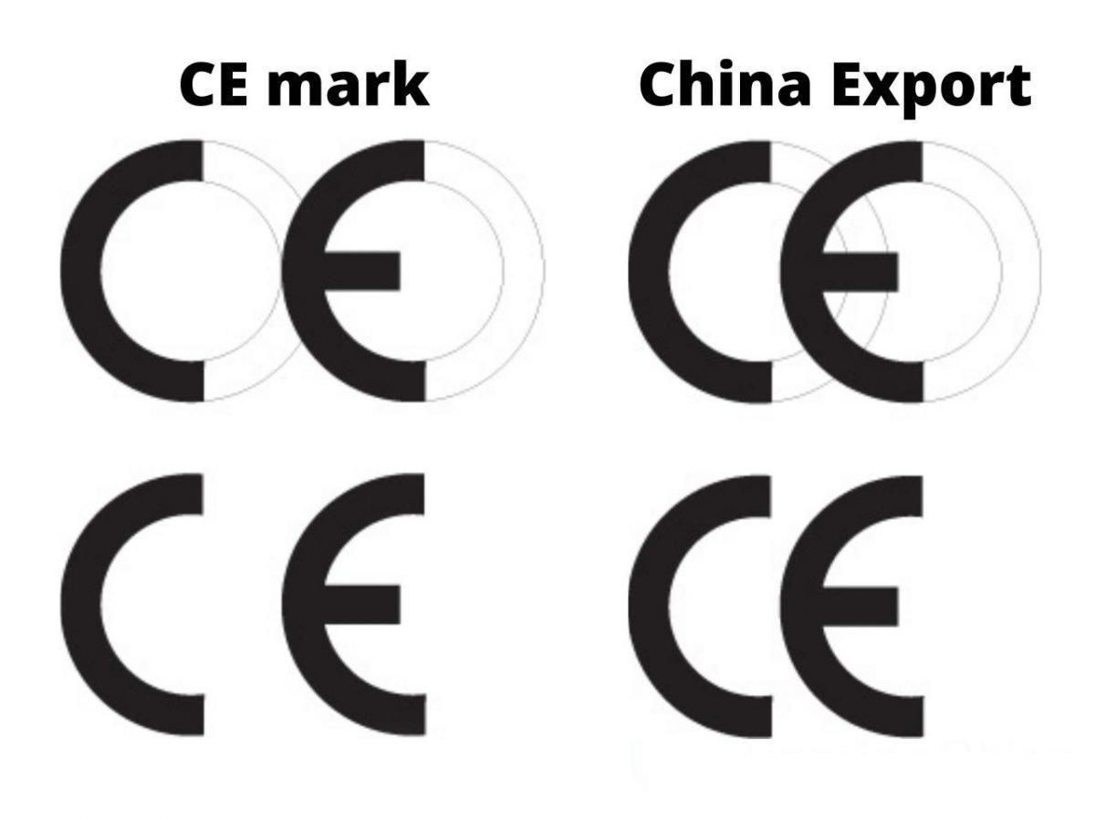 CE mark vs China Export
