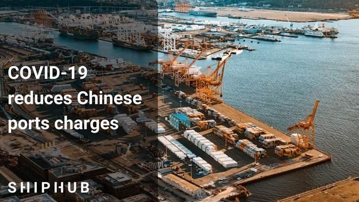 COVID-19 reduces Chinese ports charges