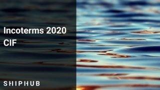 incoterms 2020 cif