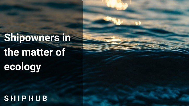 Shipowners in the matter of ecology