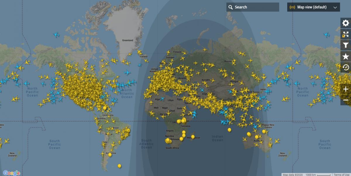 Airfreight traffic