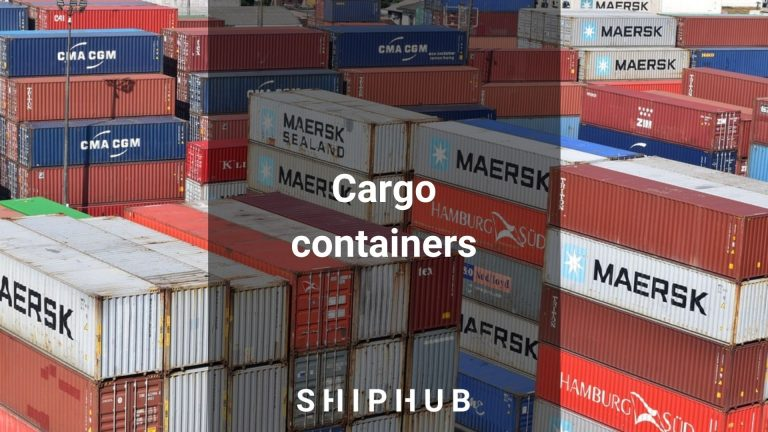 Cargo containers - types and sizes