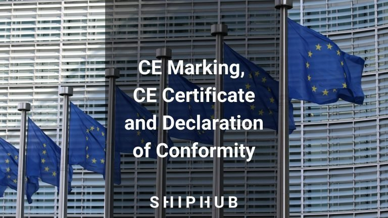 CE Marking, CE Certificate and Declaration of Conformity