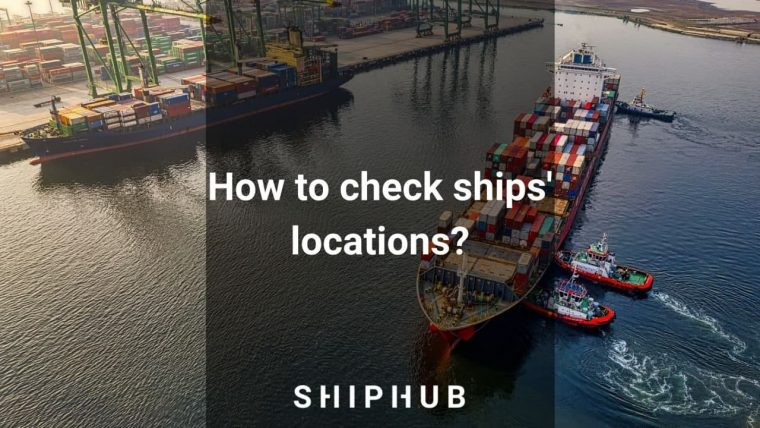 how to check ship location