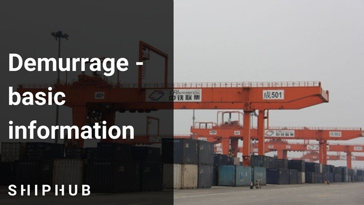 Demurrage - basic information