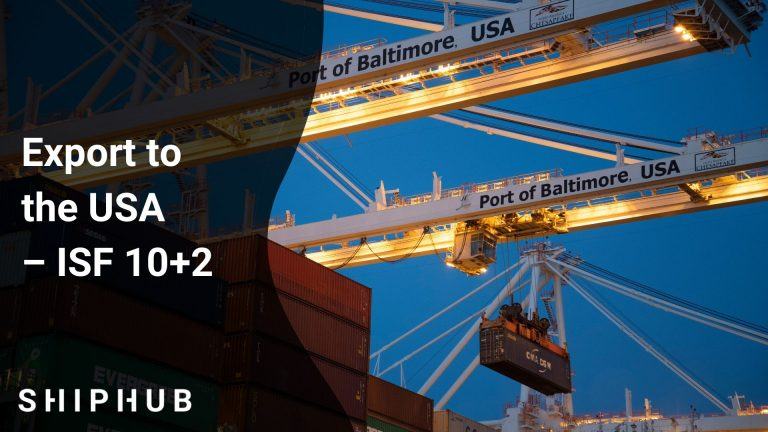 Export to the USA – ISF 10+2