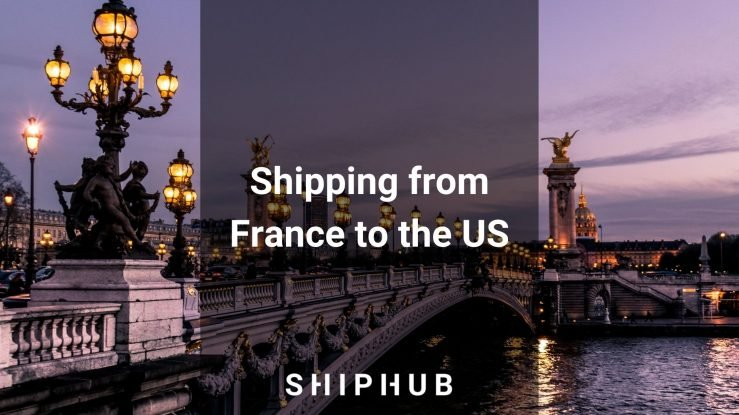 Shipping from France to the US