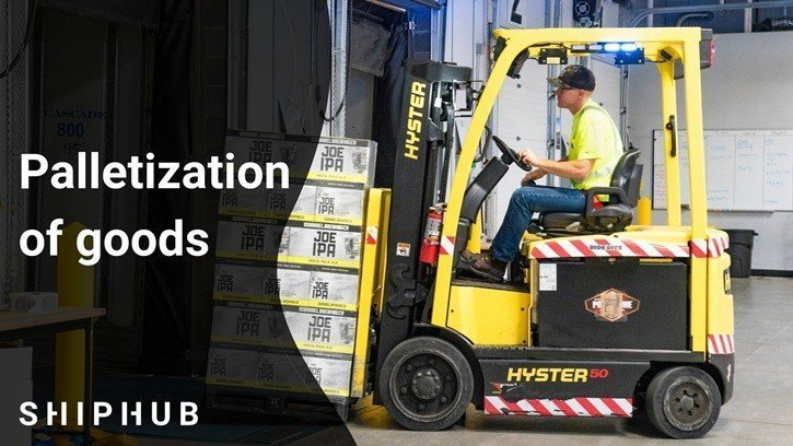 Palletization of goods