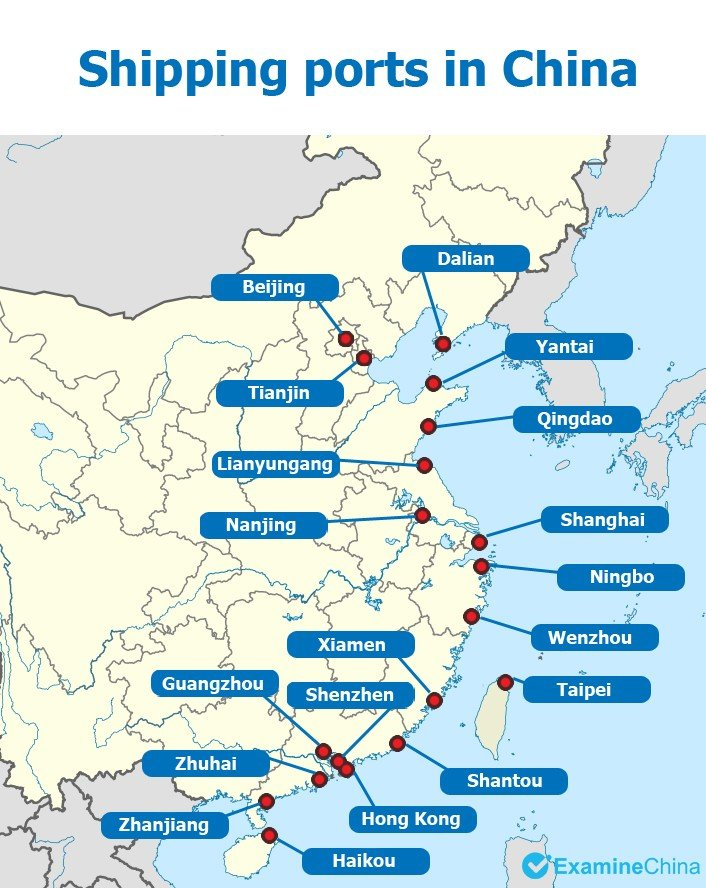 Top 9 Ports In China The Biggest Ports In China Information
