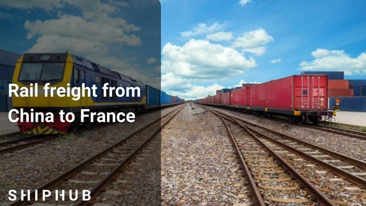 rail freight from China to France
