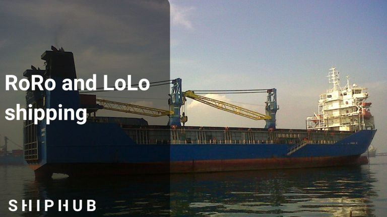 RoRo and LoLo shipping