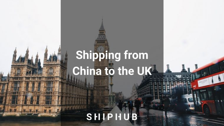 Shipping from China to the UK
