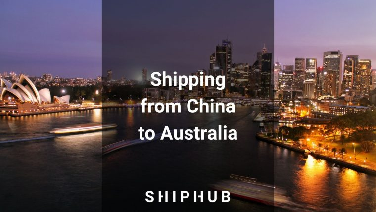 Shipping from China to Australia