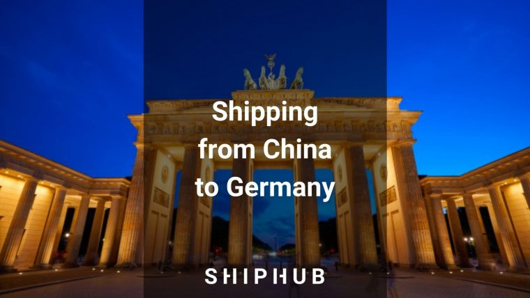 Shipping from China to Germany