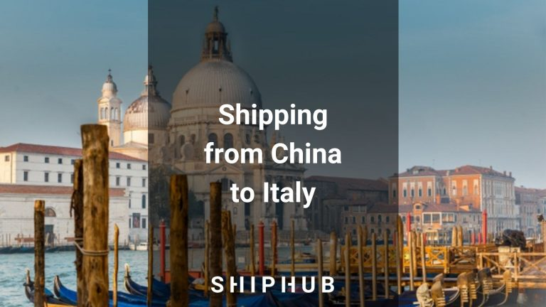 Shipping from China to Italy
