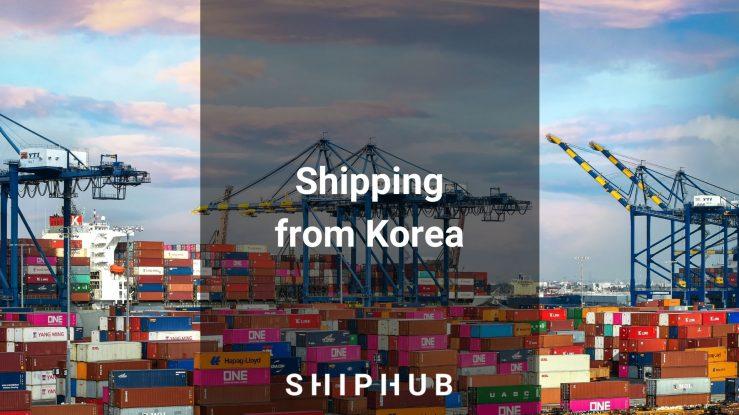 Shipping from Korea