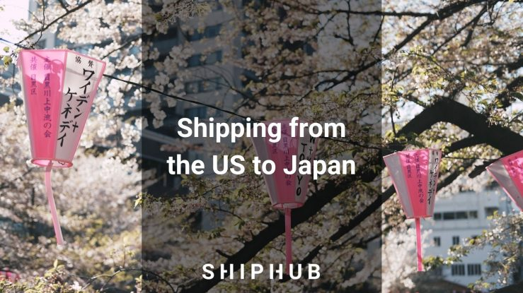 Shipping from the US to Japan