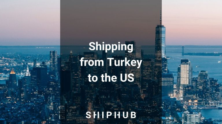 Shipping from Turkey to the US