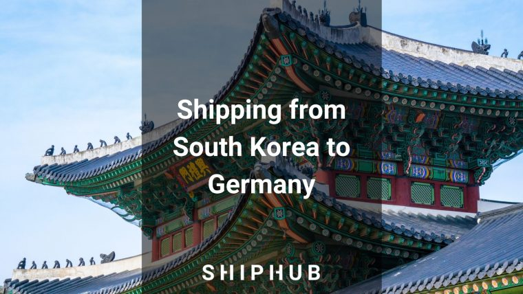 Shipping from South Korea to Germany