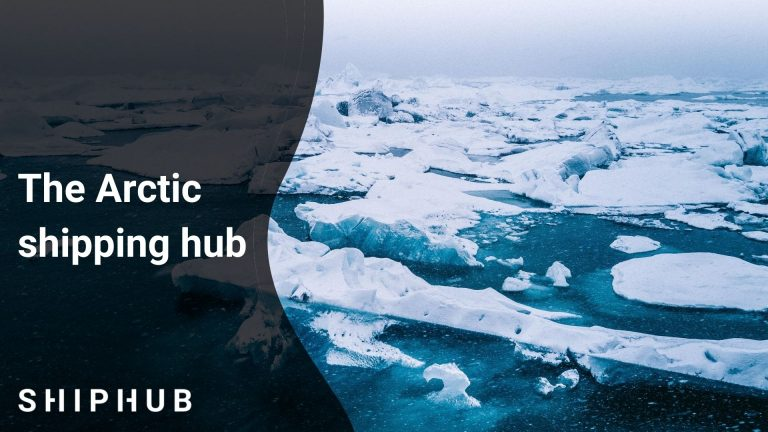 The Arctic shipping hub