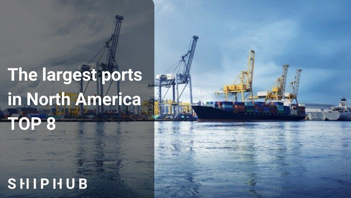 The largest ports in America