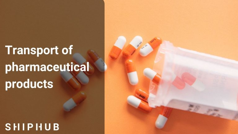 Transport of pharmaceutical products