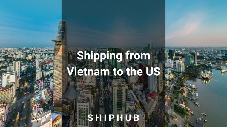 Shipping from Vietnam to the US